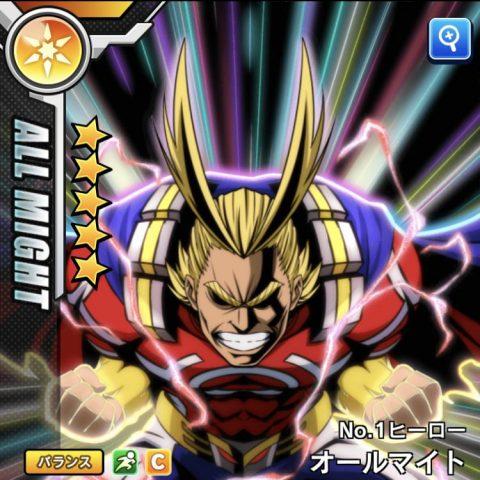 オールマイト【No.1ヒーロー】