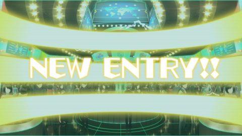 チャンスアップの「NEW ENTRY!!」
