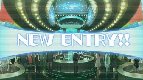 通常の「NEW ENTRY!!」