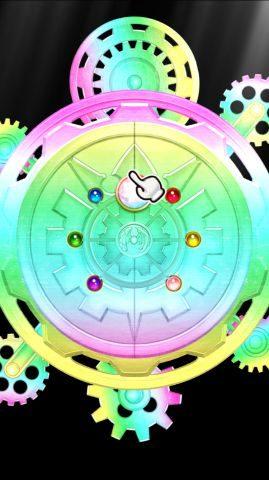 虹色が出れば超Sレア(星5)ユニットが確定するようです。