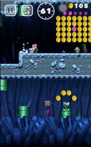 上のルートでピンクコインを回収できます。