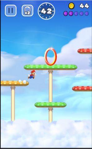 赤いリングは無視して下のルートを進みます。