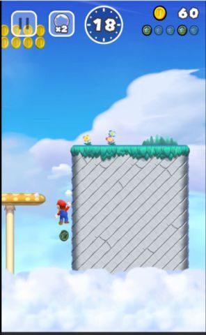 壁に張り付きながら滑り落ちて回収します。壁キックのタイミングには注意!