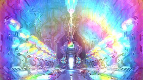 虹色まで行けば星5エクティスが出現します。