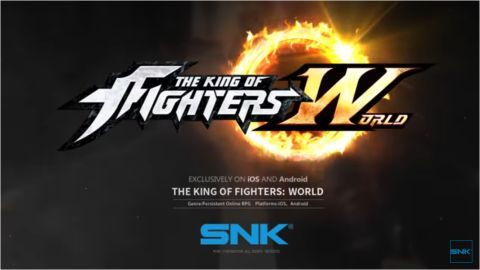 「THE KING OF FIGHTERS: WORLD」(KOF W)が発表されました!
