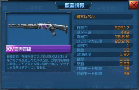 散弾銃「XM壱零壱肆」