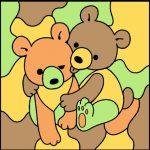 No.1 双子のクマ