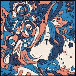No.16 花と少女