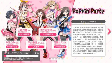 Poppin' Party(ポッピンパーティー)