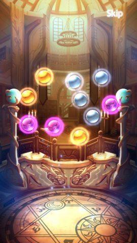 玉の色は紫がUR、金がSR、銀がRに対応します。