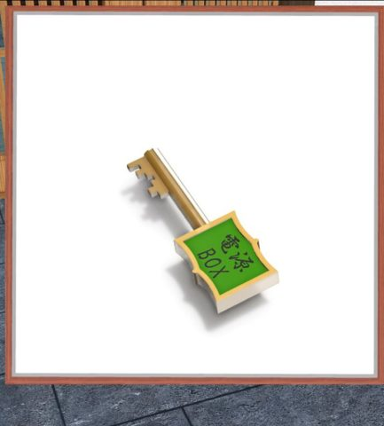 電源BOXの鍵