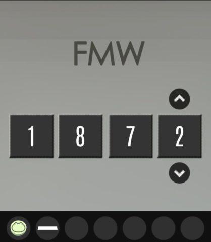 FMWと書かれた箱に答えを入力します。