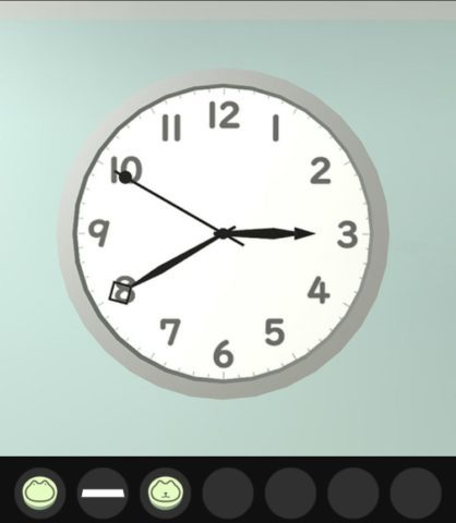 時計の針の先の形