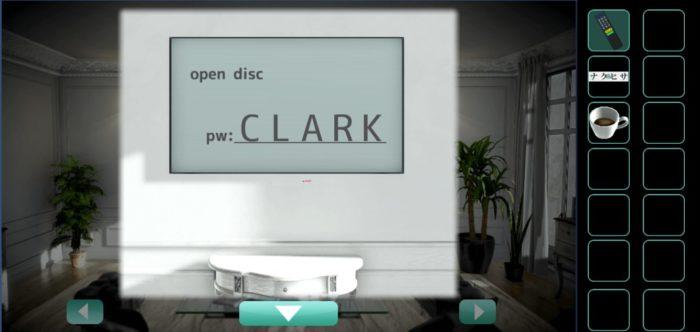 CLARKと入力