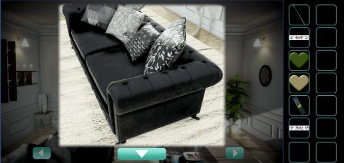 ソファーを拡大