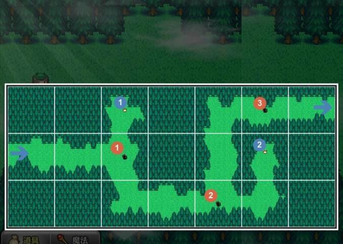 1-2 深い森その1