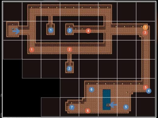3-7 砂漠の洞くつ2F