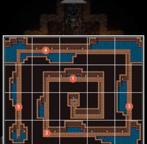 3-7 砂漠の洞くつ3F