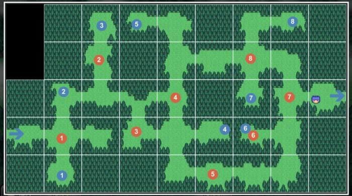 5-4 迷路の森その2
