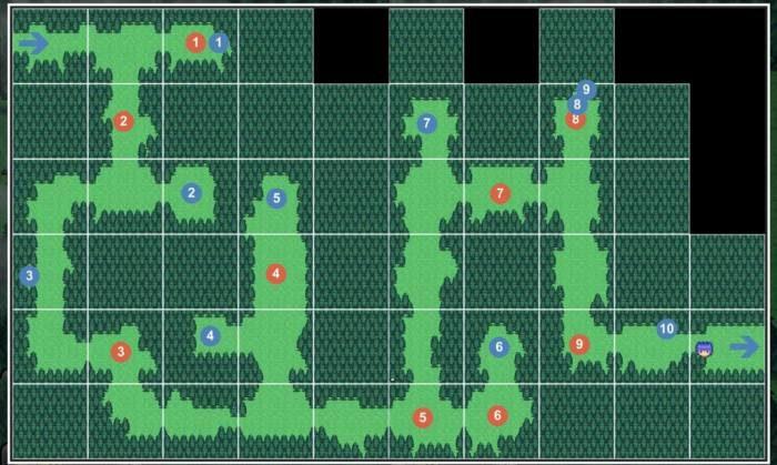 5-9 モンスター達の森