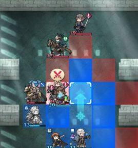 【FEヒーローズ】攻撃時に待機するマスを選ぶ方法