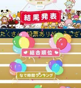 【ぐでたまS】サンリオキャラクター大賞入賞記念キャンペーン開催中!